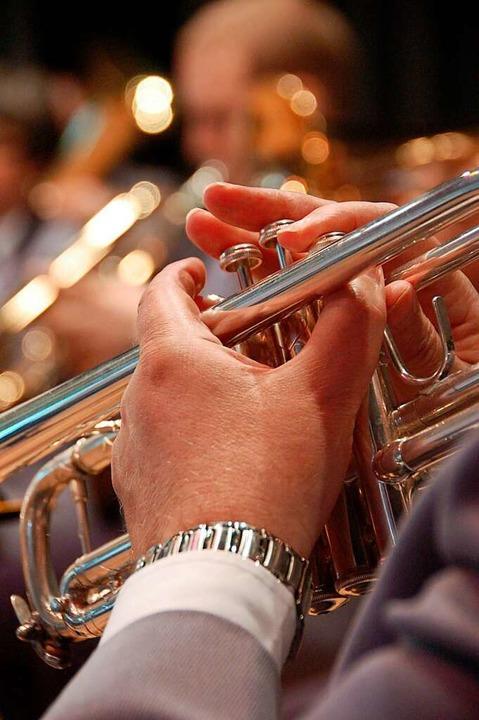 Für die Blasmusiker gelten weiterhin A...nen hohen Platzbedarf zur Folge haben.    Foto: Daniel Gramespacher