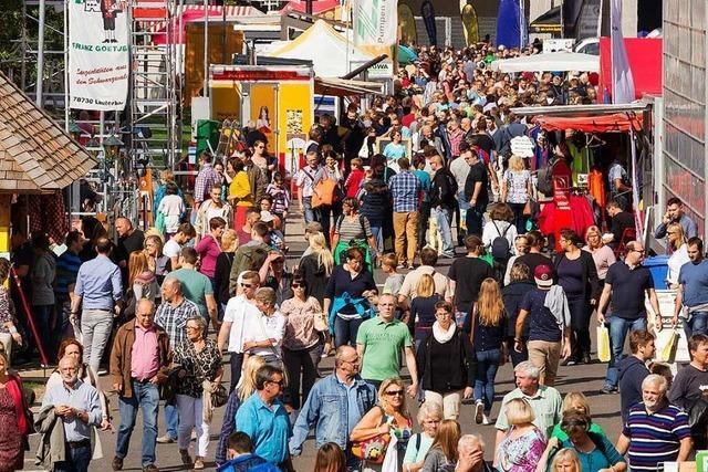 Die Offenburger Oberrheinmesse ist abgesagt