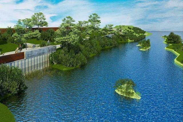 So könnte der neue Rheinuferweg in Grenzach-Wyhlen aussehen