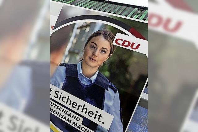 Kritik an Plakat der CDU mit