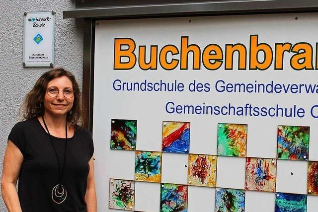 Welche Ziele hat die neue Rektorin der Buchenbrandschule in Schönau?