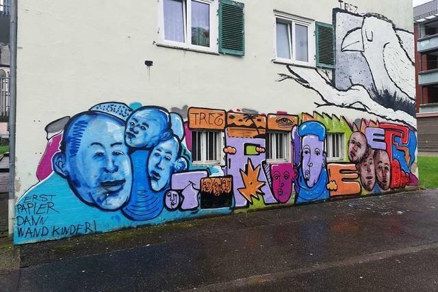Die Stadt Lahr will Sprayern Räume bieten