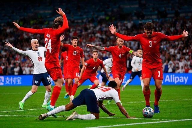 Falscher Elfmeterpfiff für England ist kein Fall für den Videoschiedsrichter