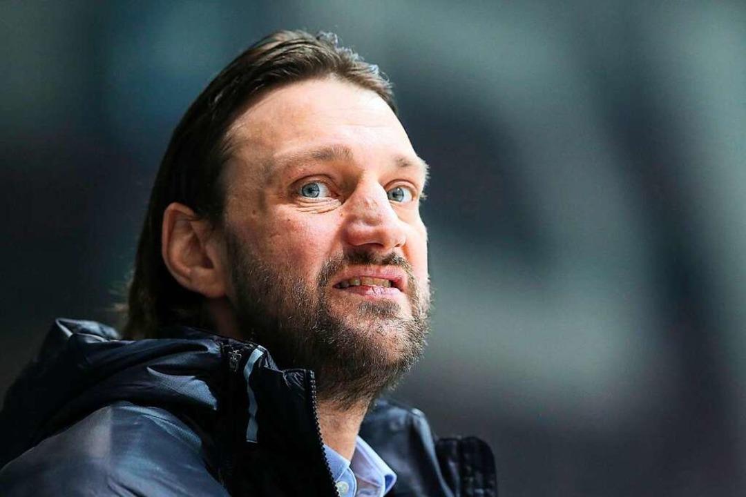 Hält sehr viel von seinem neuen Stürme...ellan: EHC-Cheftrainer Robert Hoffmann  | Foto: EIBNER/rrz