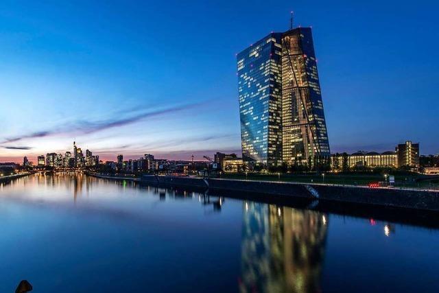 EZB strebt exakt zwei Prozent Inflation an