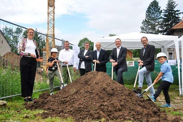 Ein Heizzentrale soll 250 Wohneinheiten in Lörrach versorgen