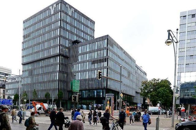 Das Freiburger Volksbank-Areal ist das neue Tor zur Stadt