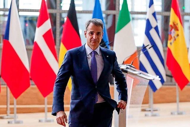Der griechische Premier Mitsotakis liegt unangefochten an der Spitze