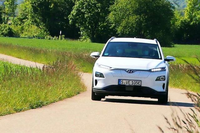 Wie fährt sich eigentlich ein E-Auto im Schwarzwald?