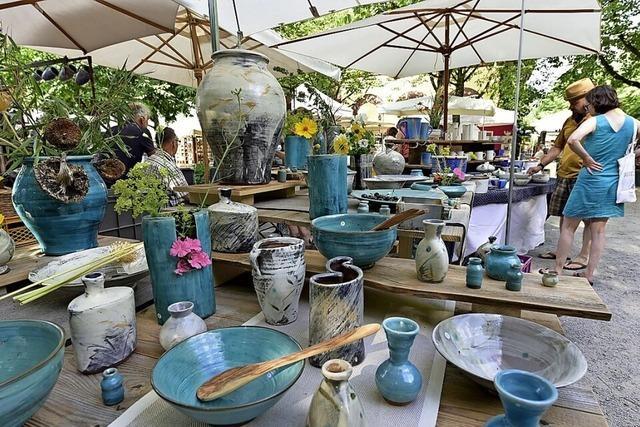 Dieses Wochenende können die Keramiktage vor dem Wiehrebahnhof wieder stattfinden