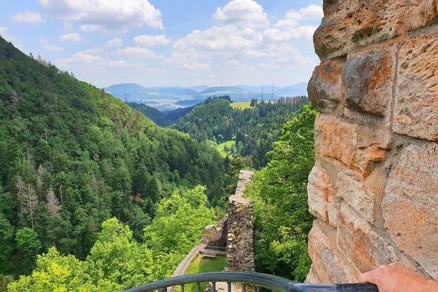 Wandern, wo einst die Ritter hausten: Eine Tour zur Burg Wieladingen