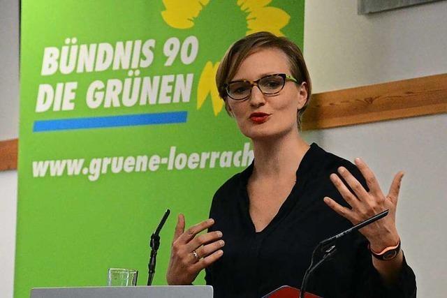 Grünen-Spitzenkandidatin Franziska Brantner diskutiert am Sonntag in Lahr über Jugendpolitik