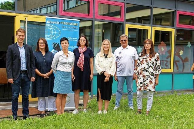 Kiwanis-Ferienschule in Endingen erstmals für Grundschüler