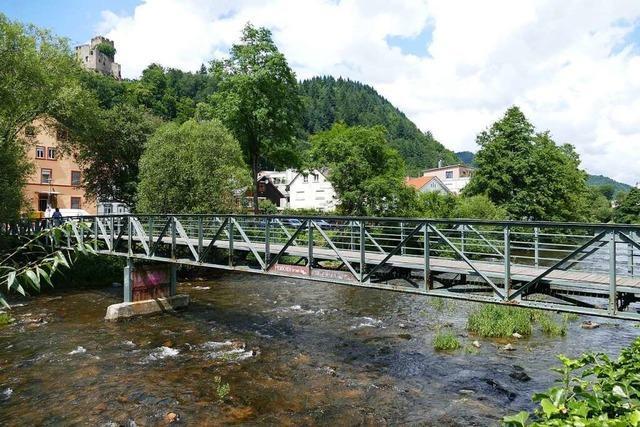 Die Tage des alten Jünglingsstegs in Waldkirch sind gezählt