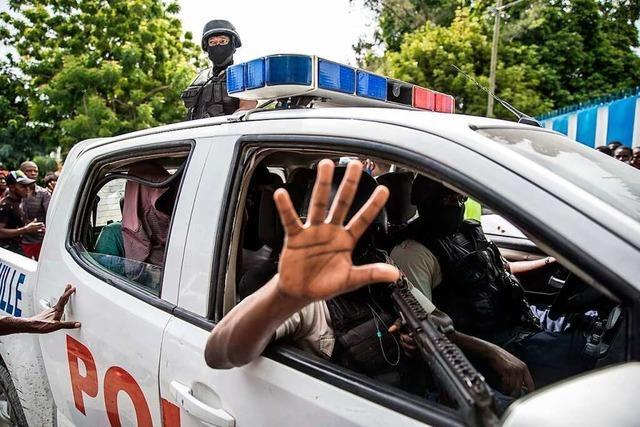 Haiti bittet nach Präsidentenmord um ausländische Soldaten
