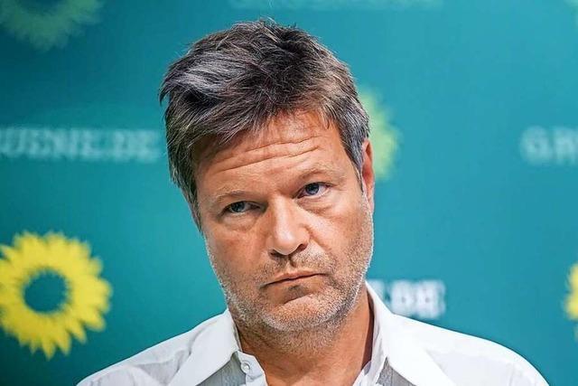 Habeck: Wechsel bei der Kanzlerkandidatur der Grünen