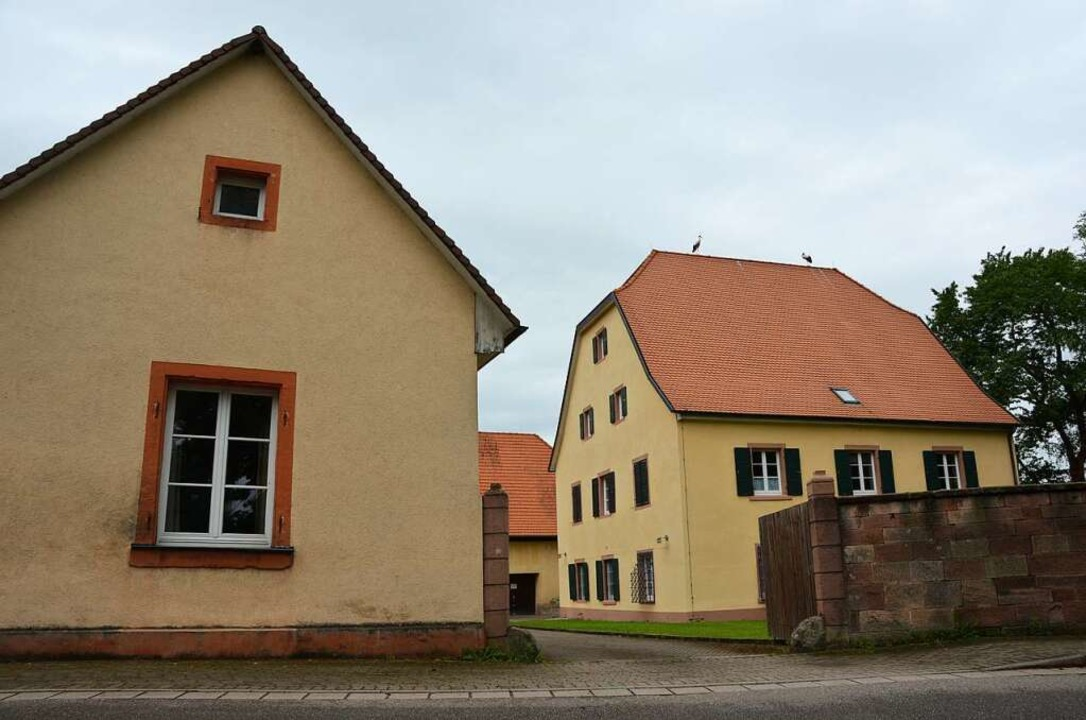 Das Pfarrhofensemble in Herbolzheim: Ort für eine WG junger Menschen?  | Foto: Felix Lieschke