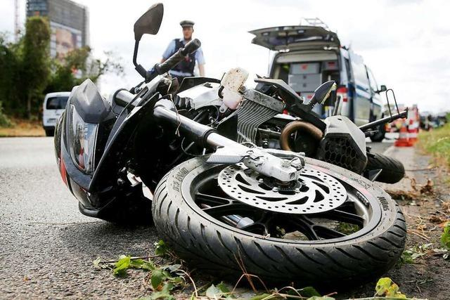 Motorradfahrer bei Unfall in Todtmoos schwer verletzt