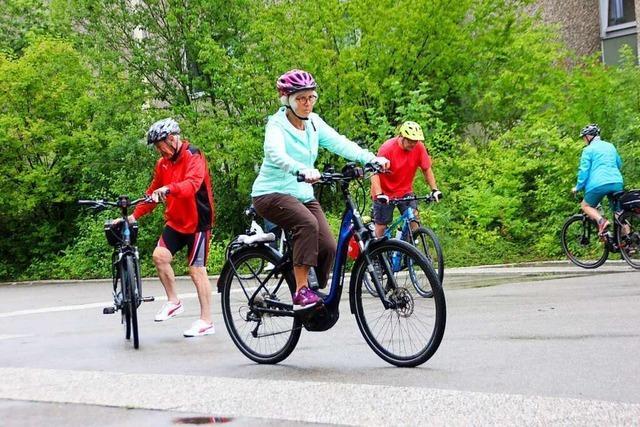 In Ettenheim gibt es Kurse für Menschen mit E-Bikes