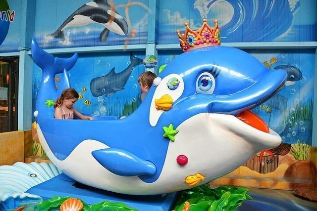 Vier Kinder testen den Freizeitpark Funny World in Kappel-Grafenhausen