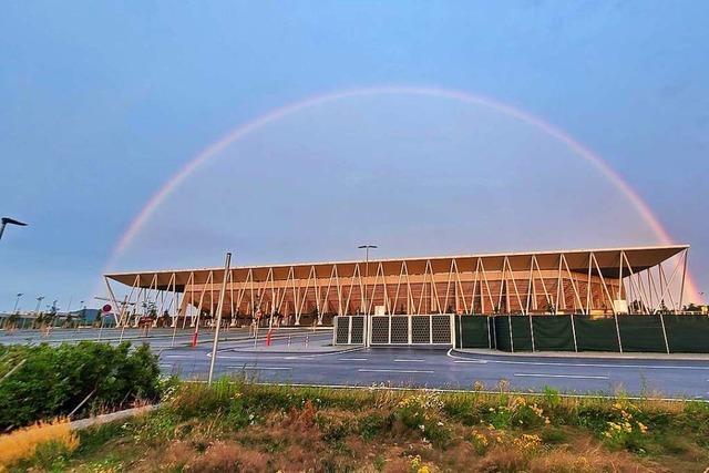 Kann man sich einem Regenbogen nähern?