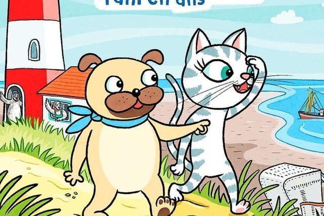 Ein Abenteuercomic mit Geschichten aus dem Watt