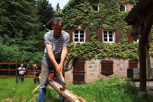 Die Untere Rostmühle im Bleibachtal ist aus dem Dornröschenschlaf erwacht