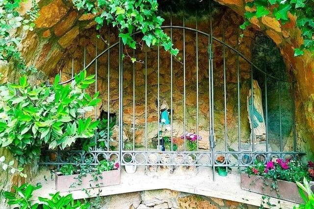 Warum es in Bollschweil eine Lourdes-Grotte gibt