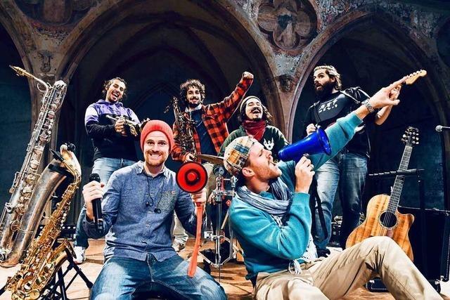 Kleines Open-Air zum Stimmenfestival 2021 in Lörrach