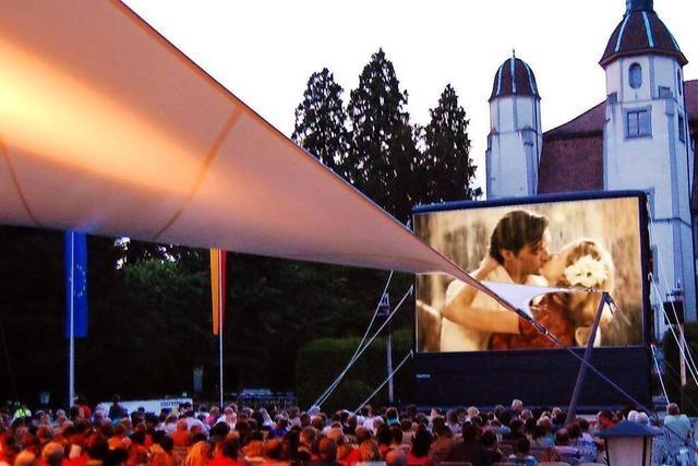 Im Säckinger Schlosspark gibt es wieder Freiluft-Kinonächte