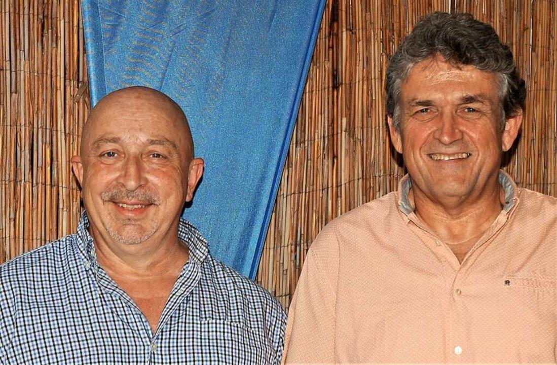 Die beiden Kandidaten des Bundesverban...penheim und  Adolf Huber aus Oberkirch  | Foto: Wolfgang Beck