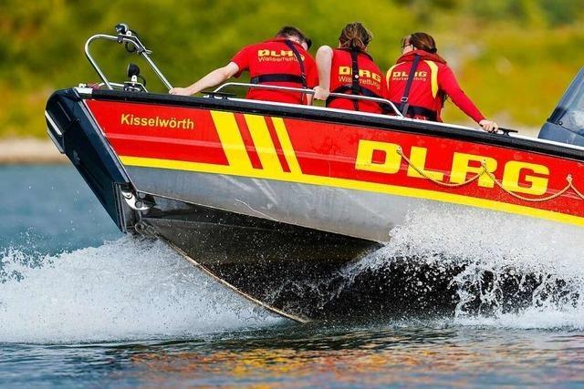 Drei Fischer auf dem Rhein bei Aargau konnten gerettet werden