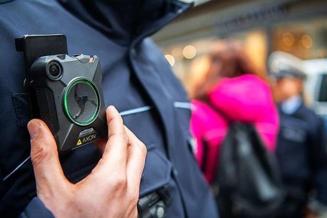 Bodycams tragen oft zu einer Deeskalation der Lage bei