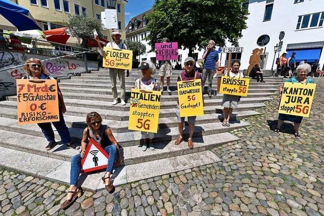 Freiburgs Mobilfunkkritiker sammeln wieder Unterschriften