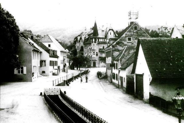Seit Jahrhunderten prägt der Glasbach das Ortsbild von Freiburg-Herdern