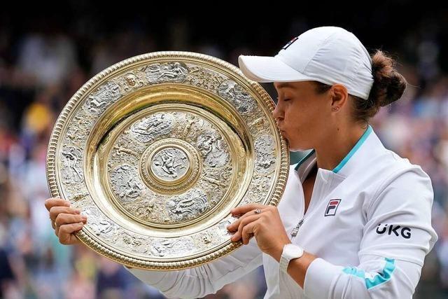 Ashleigh Barty siegt in Wimbledon