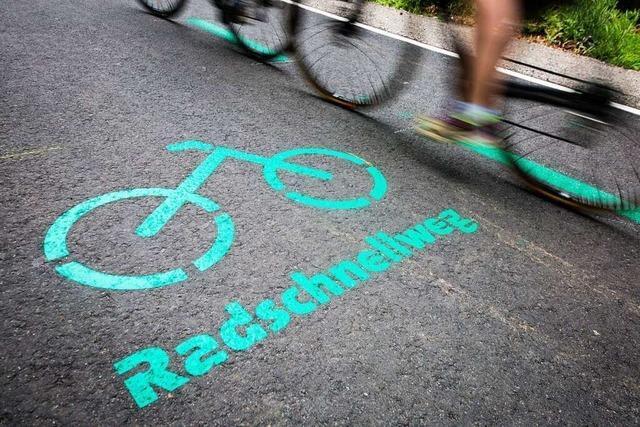 Mögliche Trasse für Radschnellweg RS6 stößt in Freiburg auf Skepsis