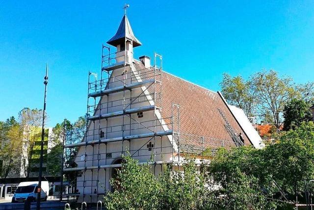 Deutsch-französische Kapelle der Begegnung in Straßburg wird saniert
