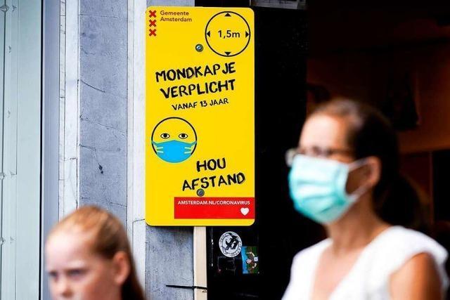 Viele Neuinfektionen nach Corona-Lockerungen in den Niederlanden
