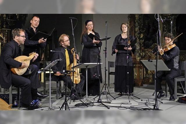 Ensemble Leones mit Liedern aus dem Leuven Chansonnier