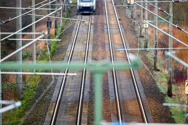 Für den Abschnitt 8.0 der Rheintalbahn beginnt die Offenlage