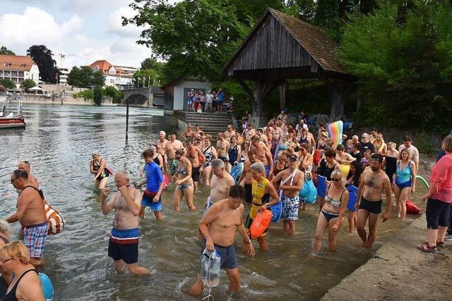 Rheinfelder Rheinschwimmen muss verschoben werden