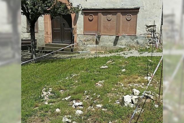 Sitzenkircher Friedhof wenig würdevoll
