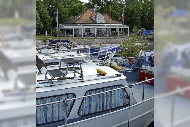 Yachtclub wartet auf Erweiterungsfläche