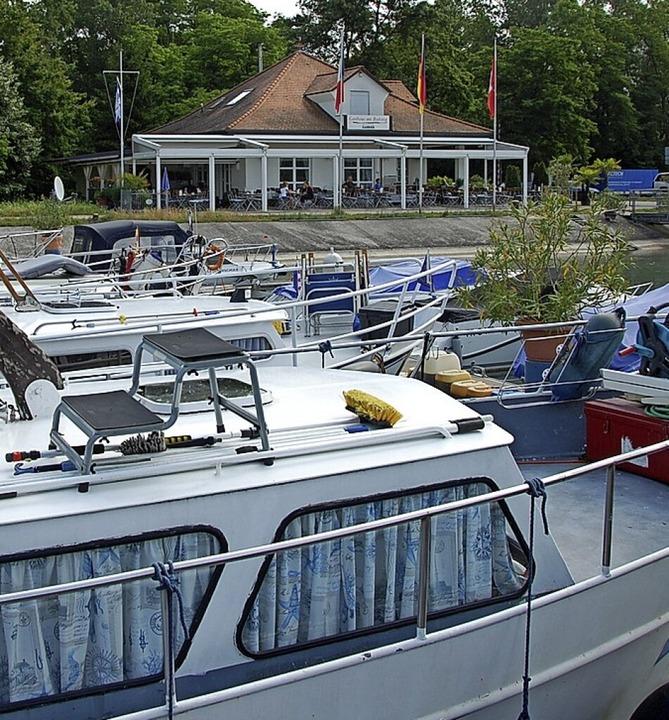 Die Gaststätte des Yachtclubs  | Foto: Herbert Frey