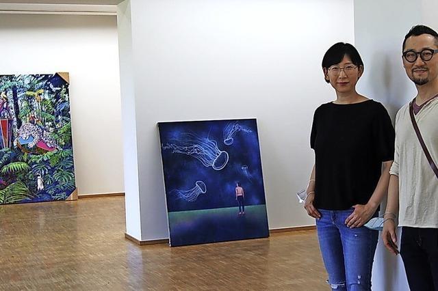 Künstlerpaar zeigt sich in seiner Arbeit komplementär