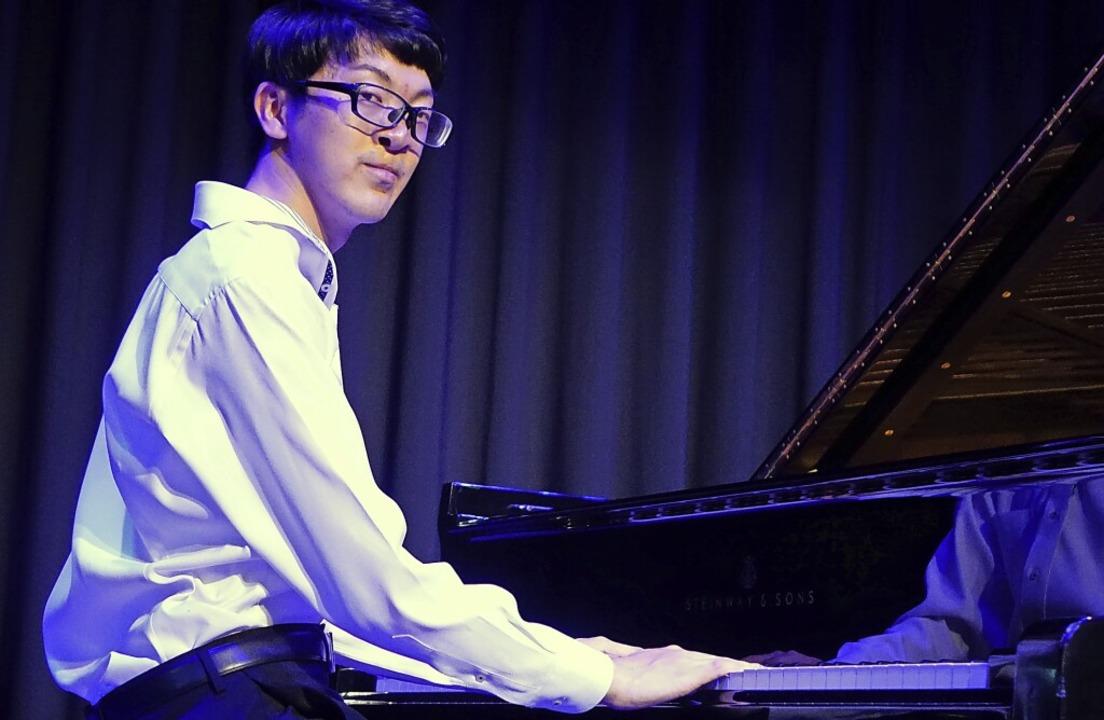 Der aus Tokyo stammende Pianist Ryo Ya... brillierte bei den Meisterkonzerten.   | Foto: Roswitha Frey