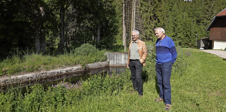 Der Besitzer der Schwarzen Säge Richar...er im Lindauer Tal renaturiert werden.    Foto: Hans-Jürgen Sackmann
