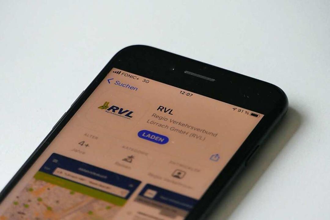 Der RVL hat eine neue App.    Foto: Jonas Hirt