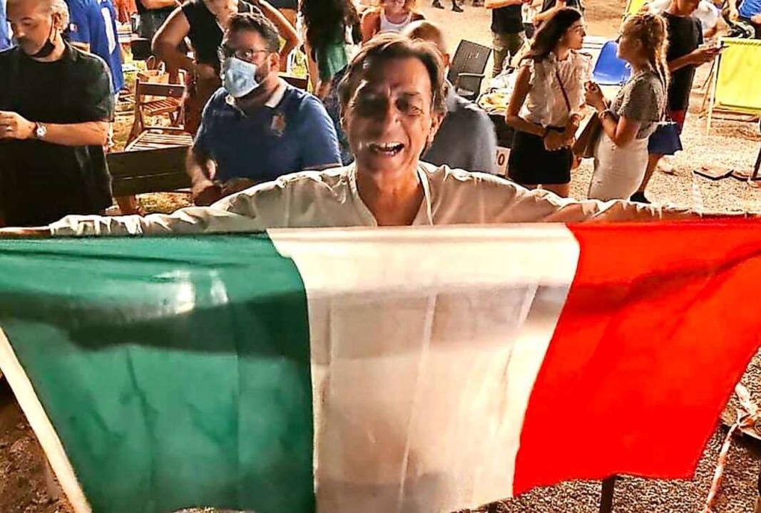 Auch nicht unzufrieden: Sergio Giordani, der Bürgermeister von Padua  | Foto: Privat